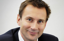 U.K. Secretary of State of Health Jeremy Hunt
