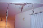 A leaking roof can cause a nightmare's worth of damage in a home.