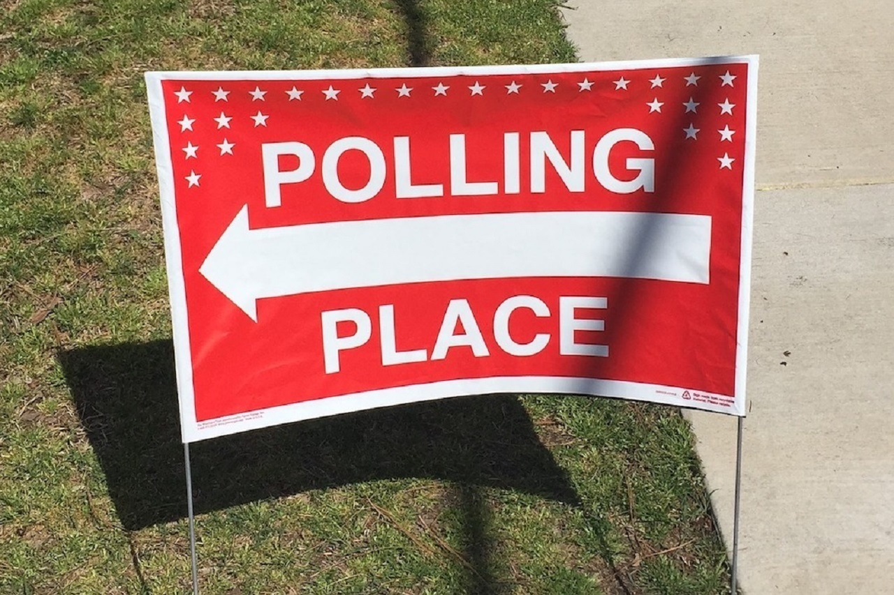 Voting sign 1280