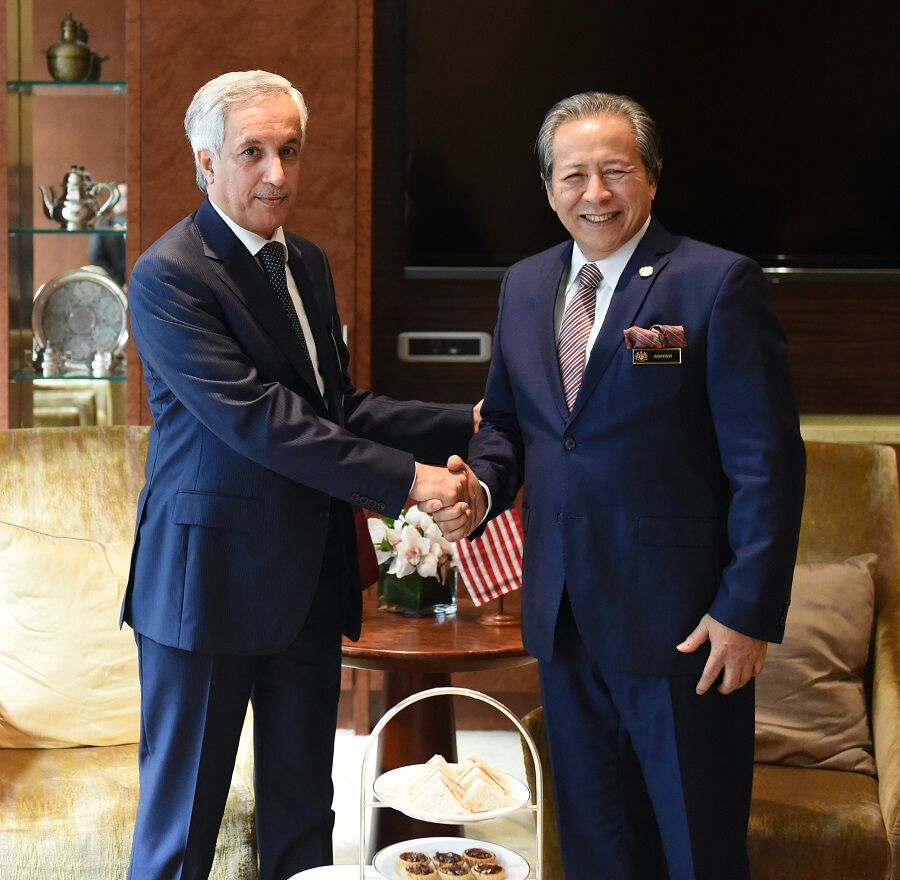 The foreign ministers of Malaysia and Qatar met in the city of Kuala Lumpur to discuss the relations and opportunities for collaboration between the countries.
