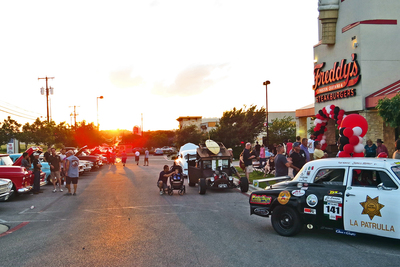 Freddy's Steakburgers in Pflugerville has become the place for quarterly car shows hosted by Stephanie Myers.