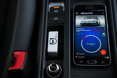 Now there is an app that acts as an interface between the driver and his machine.
