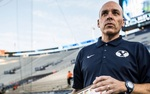 """Greg Wrubell will remain the """"Voice of the Cougars"""" by performing play-by-play on the radio for football, basketball and soccer."""