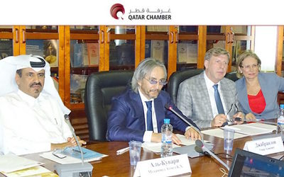 Representatives from Qatar, Russia meet to discuss growing economic relations