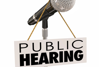 Medium public hearing