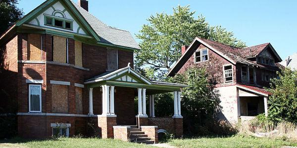 Large foreclosure