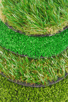 Synthetic grass comes in a variety of types.