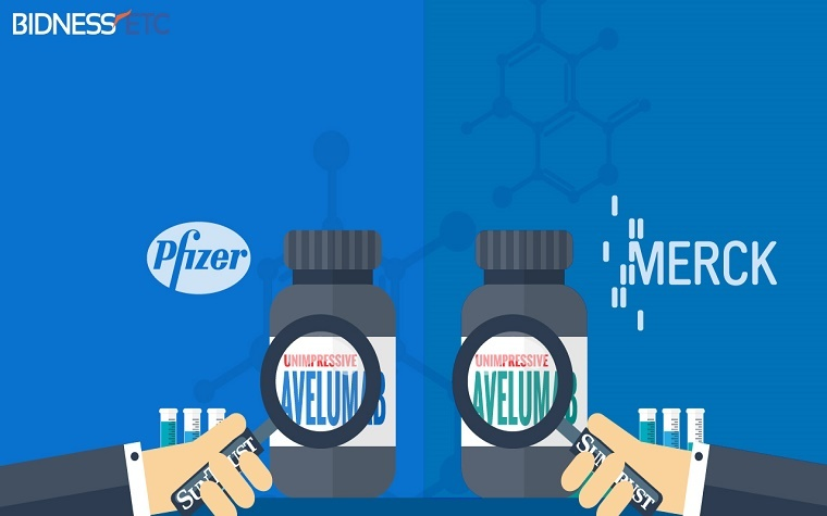 Merck, Pfizer launch phase III trial of ovarian cancer therapy.