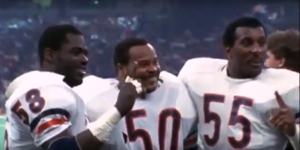 Large 1985 bears linebackers