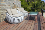 Seasonal Living's focus this year centers on balcony furniture.