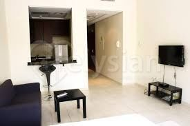 A studio apartment is available in Discovery Gardens