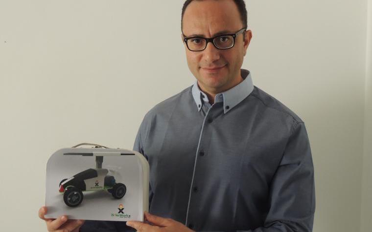Ali Abdel Hafiz, the founder and CEO of iSolarWorkx