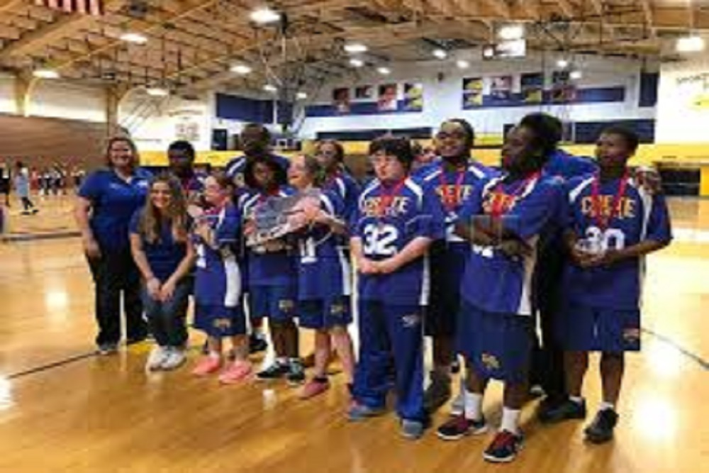 Crete Monee High School Special Olympics Wins 2nd Place