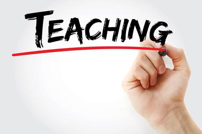 Medium teaching sign