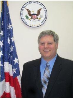 NRC Senior Resident Inspector, Douglas Dodson