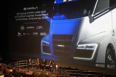 Nikola Motors will bring over $1 billion in capital investment and about 2,000 jobs to the region by 2024.