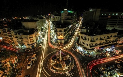 Ramallah, Palestine is home to the Palestinian Monetary Authority.
