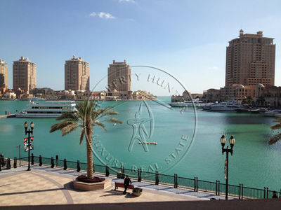 The available two bedroom apartment offers a beautiful marina view.