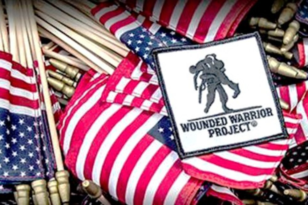 The Wounded Warrior Project assists with the regional Harvest Hope Food Bank.
