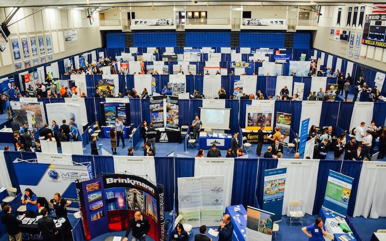 The Colorado School of Mines will host more than 500 on-campus interviews between potential employers and Mines' students.