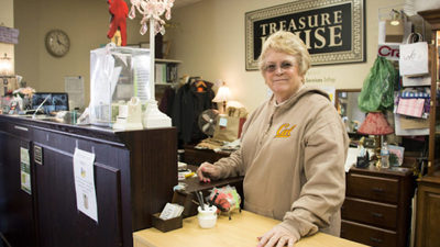 Treasure House Manager Reenie Meyer