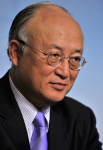 Amano represents IAEA at New York's Sustainable Development Summit.