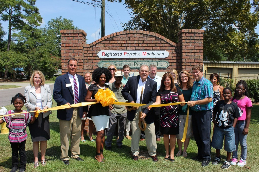 The Greater Summerville/Dorchester County Chamber of Commerce recently celebrated a grand opening and ribbon cutting with Registered Portable Monitoring in Summerville.