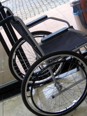 Large wheelchair