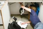 Being handy with home maintenance can be a fruitful investment of time in the long run.