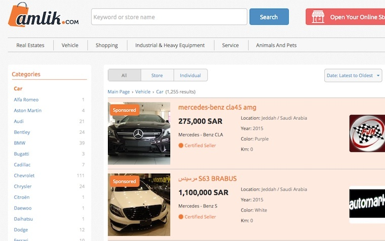 More Saudi used car buyers are shopping online.