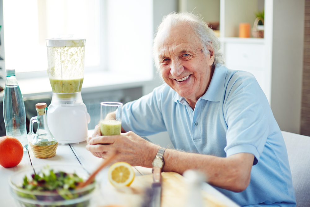 IDoA recommends that older adults stay active and eat healthily.