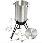 7-Piece Stainless Steel Turkey Fryer Set: $139.95