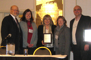 Awardees from the University of Ill. at Springfield recognized for their work in palliative care