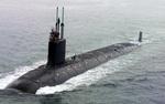 A Virginia-class U.S. Navy Submarine.