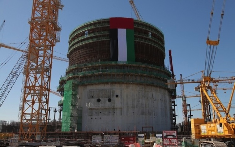 Construction on Barakah nuclear reactor achieves milestone.