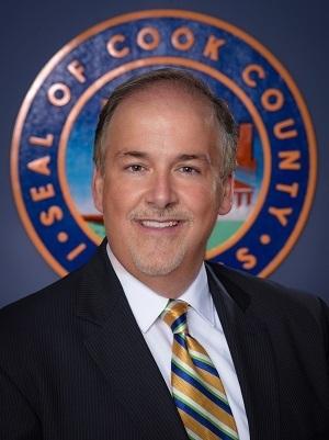 Cook County Board Commissioner Sean Morrison