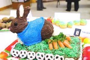 Medium edible art bunny