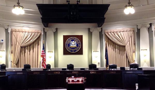 Large court