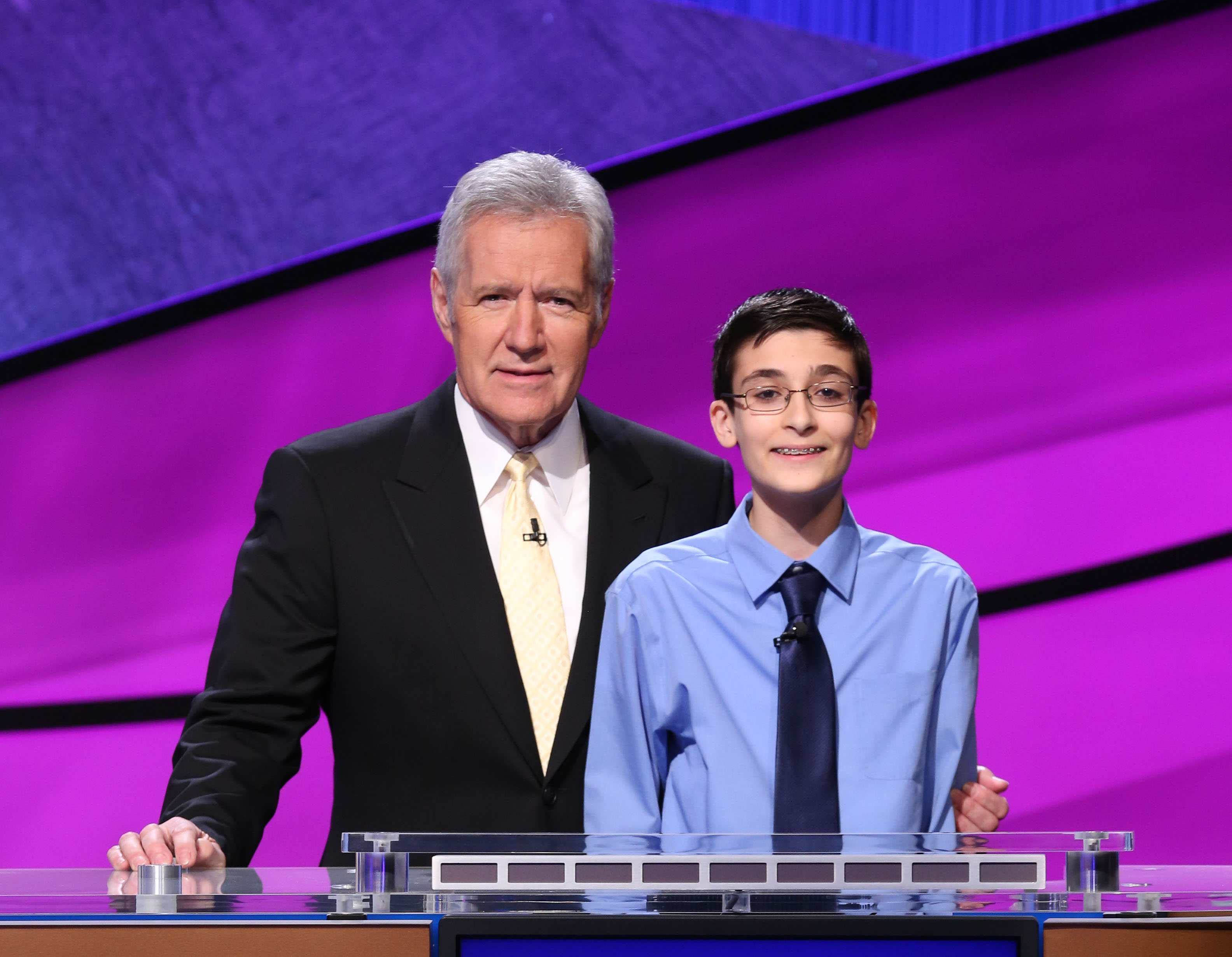 Golden was recently selected as one of 15 contestants in the Teen Jeopardy Tournament.