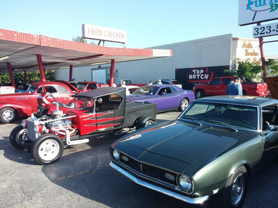 Texas Thunder and C.A.R. members host a casual gathering on the second Saturday of every month at Top Notch..