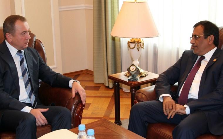 Dignitaries from UAE, Belarus meet.