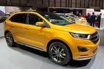 The 2016 Ford Edge features intense colors.