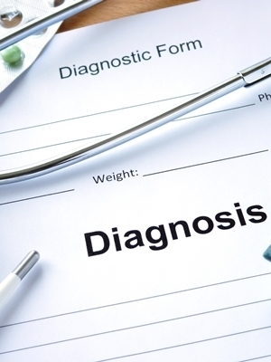 Large diagnosis graphic