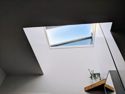 Skylights aren't easy to install, but they could be your ideal workplace addition.