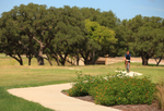 There are miles of walking trails in Caliterra's master-planned community
