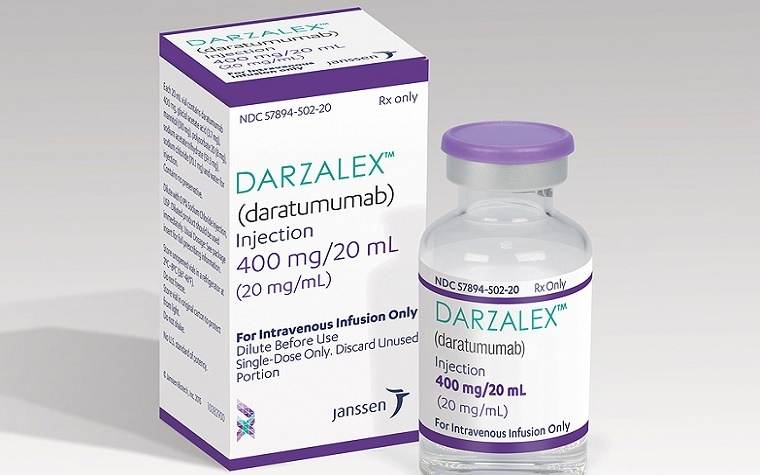 Darzalex granted accelerated FDA approval as blood cancer treatment.
