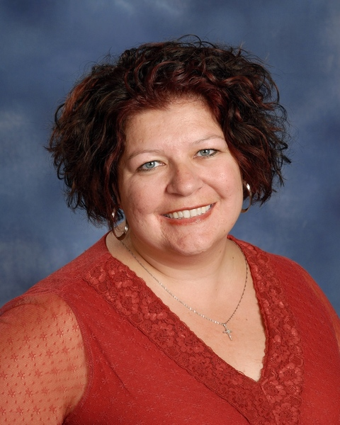 St. John Lutheran Church Food Pantry Director Dawn MacGregor