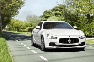 Maserati Ghibli combines classic looks with modern feel.