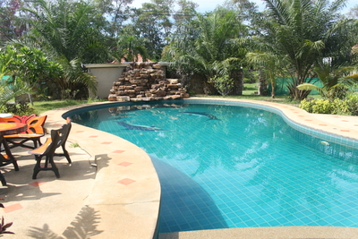 Backyard pools are an ideal escape from Beaumont's hot summers.