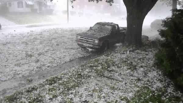 Large hail